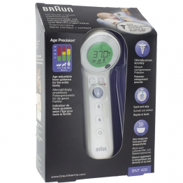 BRAUN NO TOUCH NTF3000 SANS CONTACT ET FRONTAL