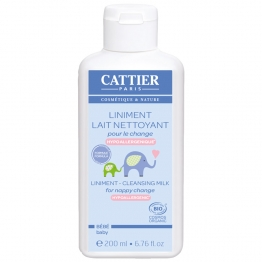 CATTIER BEBE LINIMENT BIO LAIT CREME POUR LE CHANGE 200ML