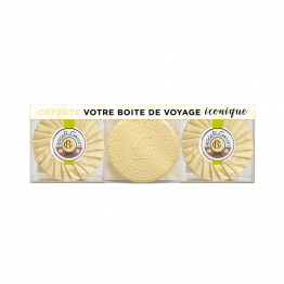 ROGER & GALLET COFFRET SAVON CEDRAT FLEUR OSMANTHUS BOIS D'ORANGE ROSE