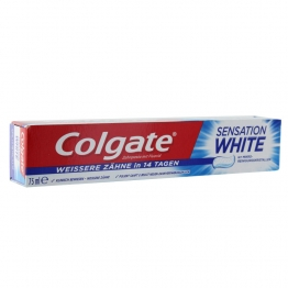 COLGATE DENTIFRICE SENSATION WHITE 75ML
