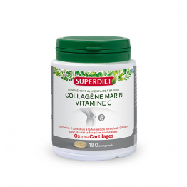 COLLAGENE MARIN + VITAMINE C 180 COMPRIMES SUPERDIET