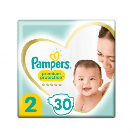 Couches Taille 2 x30 4-8kg Pampers