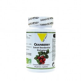 VIT'ALL+ CRANBERRY BIO 400 60 GELULES VEGETALES