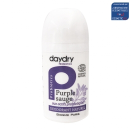 DAYDRY DEODORANT ROLL-ON SOIN PROBIOTIQUE PURPLE SAUGE 50ML