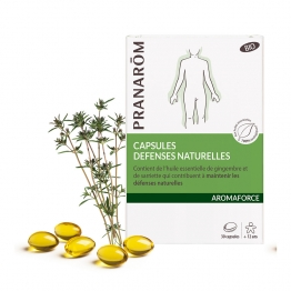 DEFENSES NATURELLES BIO 30 CAPSULES AROMAFORCE PRANAROM