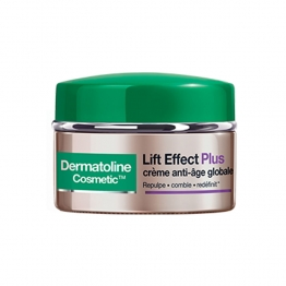 DERMATOLINE LIFT EFFECT PLUS CREME ANTI-AGE GLOBALE PEAUX MATURES SECHES 50ML