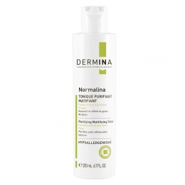 DERMINA NORMALINA TONIQUE PURIFIANT MATIFIANT PEAUX MIXTES A GRASSES 200ML
