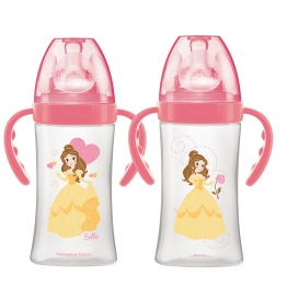DODIE BIBERON INITIATION+ DEBIT 2 PRINCESSE BELLE 0-6 MOIS AVEC ANSES 270ML