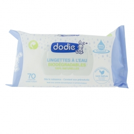 DODIE 3 IN 1 ORGANIC WATER WIPES X70