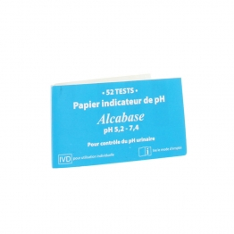 DR THEISS PAPIER ALCABASE PH 52 TESTS