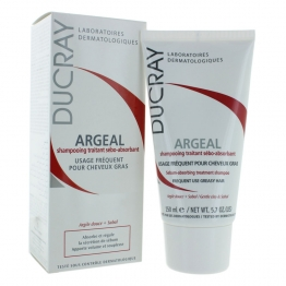 DUCRAY ARGEAL SEBO REGULATING SHAMPOO 150ML