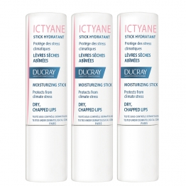 DUCRAY ICTYANE STICK HYDRATANT LEVRES SECHES ET ABIMEES 3X3G