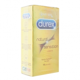 DUREX NATURAL SENSATION PRESERVATIFS X10