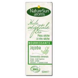 NATURESUN AROMS HUILE VEGETALE BIO JOJOBA 50ML
