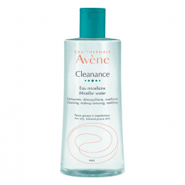 AVENE CLEANANCE EAU MICELLAIRE PEAUX GRASSES A IMPERFECTIONS 400ML