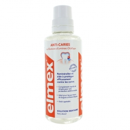 ELMEX SOLUTION DENTAIRE ANTI CARIES 400 ML