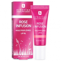 ERBORIAN ROSE INFUSION HUILE POUR LEVRES 8ML