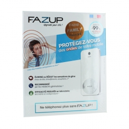 FAZUP COFFRET FAMILY 4 PATCHS DE PROTECTION CONTRE LES ONDES MOBILES