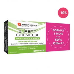 FORTE PHARMA EXPERT CHEVEUX FORCE ACTIV' ANTI-CHUTE 3 X 28 COMPRIMES