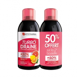 FORTE PHARMA TURBODRAINE AGRUMES 2X500ML