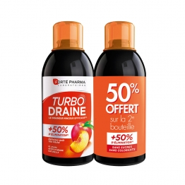 TURBODRAINE MINCEUR GOUT PECHE LOT X2 500ML