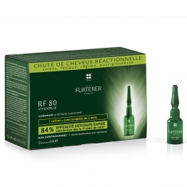 FURTERER CHUTE DE CHEVEUX RF 80 STRESS FATIGUE GROSSESSE 12X5ML
