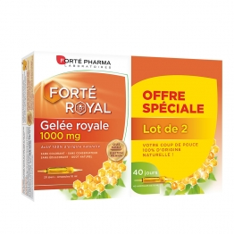 FORTE PHARMA GELEE ROYALE BIO 1000 MG 2X20 AMPOULES