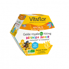 GELEE ROYALE BIO 14 UNICADOSES JUNIOR+ 700MG VITAFLOR