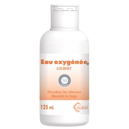 GILBERT EAU OXYGENEE 30 VOLUMES 125ML