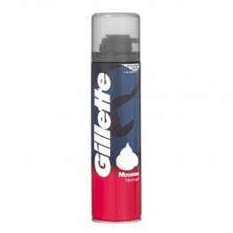 GILLETTE MOUSSE A RASER CLASSIC PEAUX NORMALES 300ML