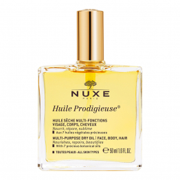 NUXE HUILE PRODIGIEUSE SECHE MULTI-FONCTIONS 50ML