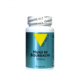VIT'ALL+ HUILE DE BOURRACHE 100 MG 30 CAPSULES