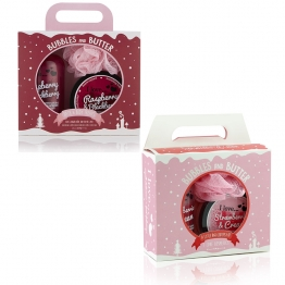 I LOVE DELICIOUS DUO BOX CREME BAIN DOUCHE 500ML+ BEURRE COPRPOREL 200ML + FLEUR DE DOUCHE