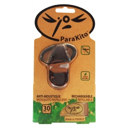 PARA KITO CLIP ANTI-MOUSTIQUES RECHARGEABLE