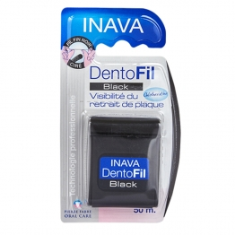 INAVA DENTOFIL BLACK FIL DENTAIRE 50M