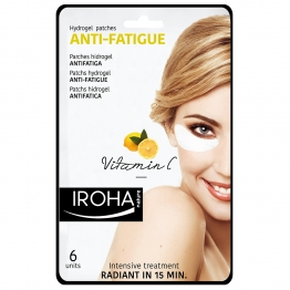 IROHA PATCHS VITAMINE C ANTI-FATIGUE YEUX X6 UNITES