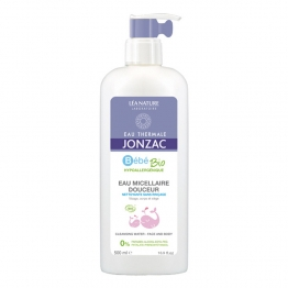 JONZAC BEBE SOFT MICELLAR CLEANSING WATER 500ML