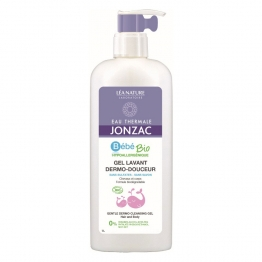 JONZAC BEBE SOFT CLEANSING GEL HAIR AND BODY 1L