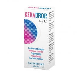 KERADROP SOLUTION OPHTALMIQUE 5ML