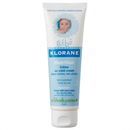 KLORANE BEBE NUTRITION CREME AU COLD CREAM 125ML