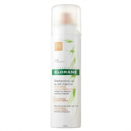 KLORANE SHAMPOOING SEC AU LAIT D'AVOINE CHEVEUX CHATAINS A BRUNS 50ML