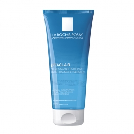 LA ROCHE-POSAY EFFACLAR GEL MOUSSANT PURIFIANT TUBE 200 ML
