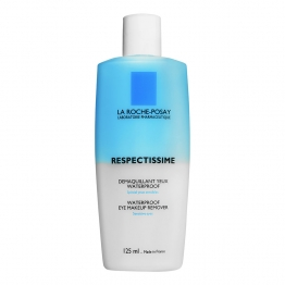 LA ROCHE-POSAY RESPECTISSIME DÉMAQUILLANT YEUX WATERPROOF TUBE 125ML