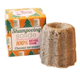 LAMAZUNA SHAMPOOING SOLIDE CHEVEUX NORMAUX AU SAPIN ARGENTE 55G