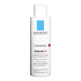 LA ROCHE-POSAY CAPILLAIRES KERIUM DS ANTIPELLICULAIRE MICROEXFOLIANT INTENSIF FLACON 125 ML