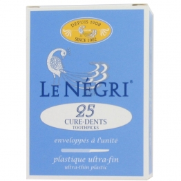 LE NÉGRI 25 CURE-DENTS PLASTIQUE