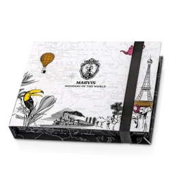 MARVIS COFFRET 3 DENTIFRICES WONDERS OF THE WORLD EDITION LIMITEE