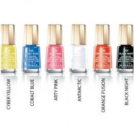 MAVALA VERNIS A ONGLES COLLECTION TECHNI-COLOR'S