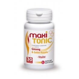 NATURAL NUTRITION MAXI TONIC 30 CAPSULES