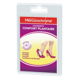 MERCUROCHROME COUSSINET CONFORT PLANTAIRE X2